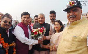 Sh. Ranbir Singh Gangwa visited OSGU
