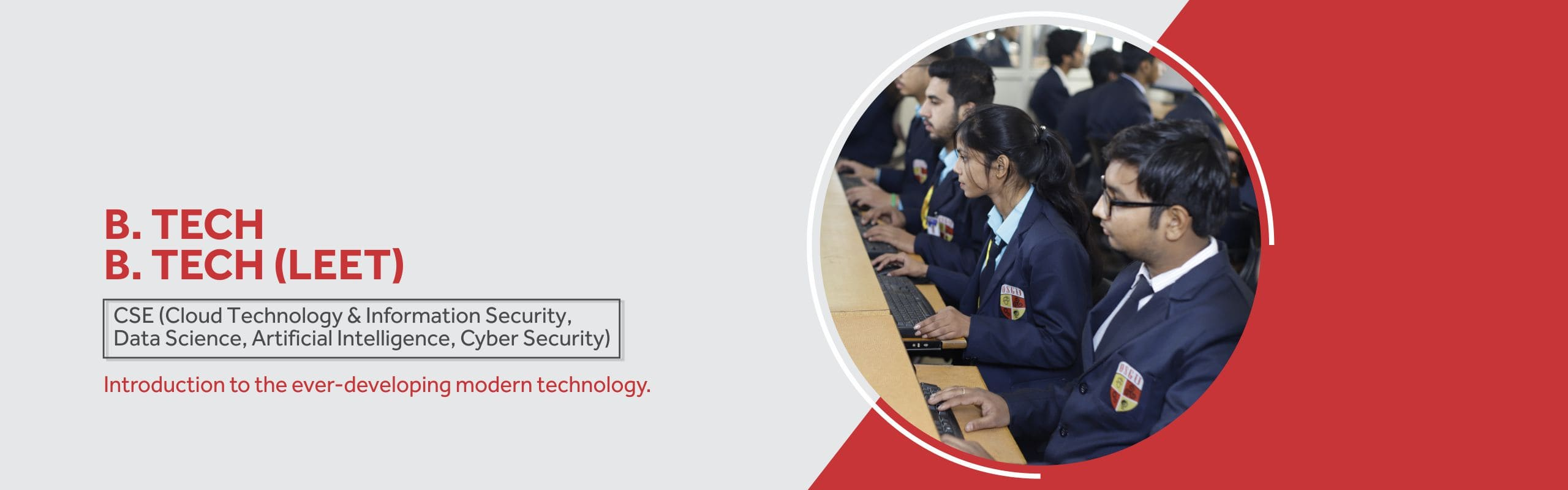 B. Tech/BE in Data Science Course/College in Haryana