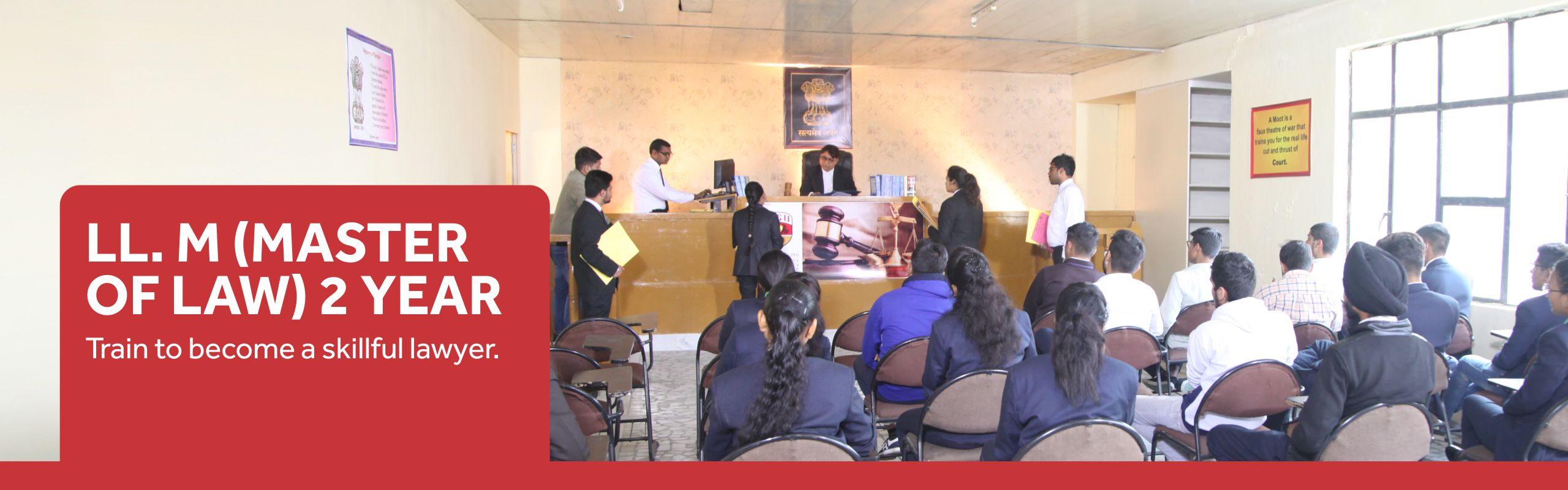 LL.M. (2 Years) Course/College in Haryana, India