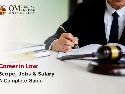 Career in Law: Scope, Jobs & Salary