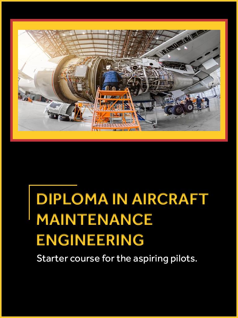 Diploma In Aircraft Maintenance Engineering College, Haryana