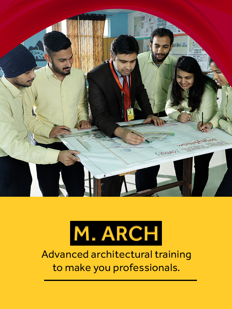 M. Arch Course/College in Haryana