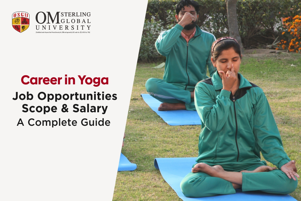 Career in Yoga: Job Opportunities, Scope & Salary