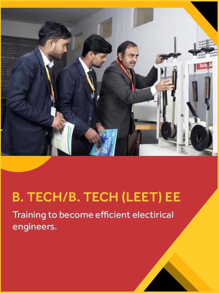 B. Tech. EE/EE LEET – Electrical Engineering