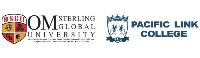 MoU signed between Om Sterling Global University and Pacific Link College, Canada