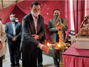 Om Sterling Global university celebrated their foundation day