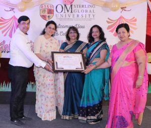 International Women's Day was organized in the premises of Om Sterling Global University, Hisar