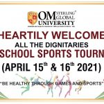 Inter School Sports Tournament SOGU, Hisar