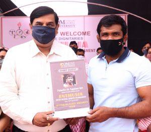 PadmaShri Sh Yogeshwar Dutt awarded to players of Om Sterling Global University (OSGU)2